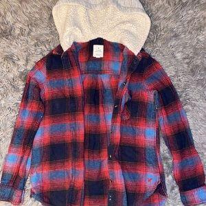 American Eagle Flannel Sweater